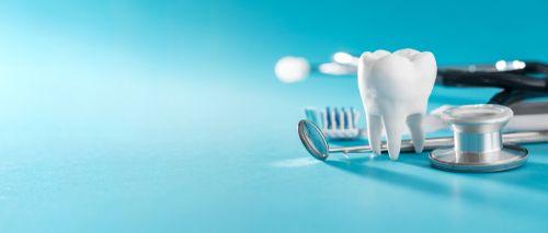 Tools for modern dental hygiene and medicine.