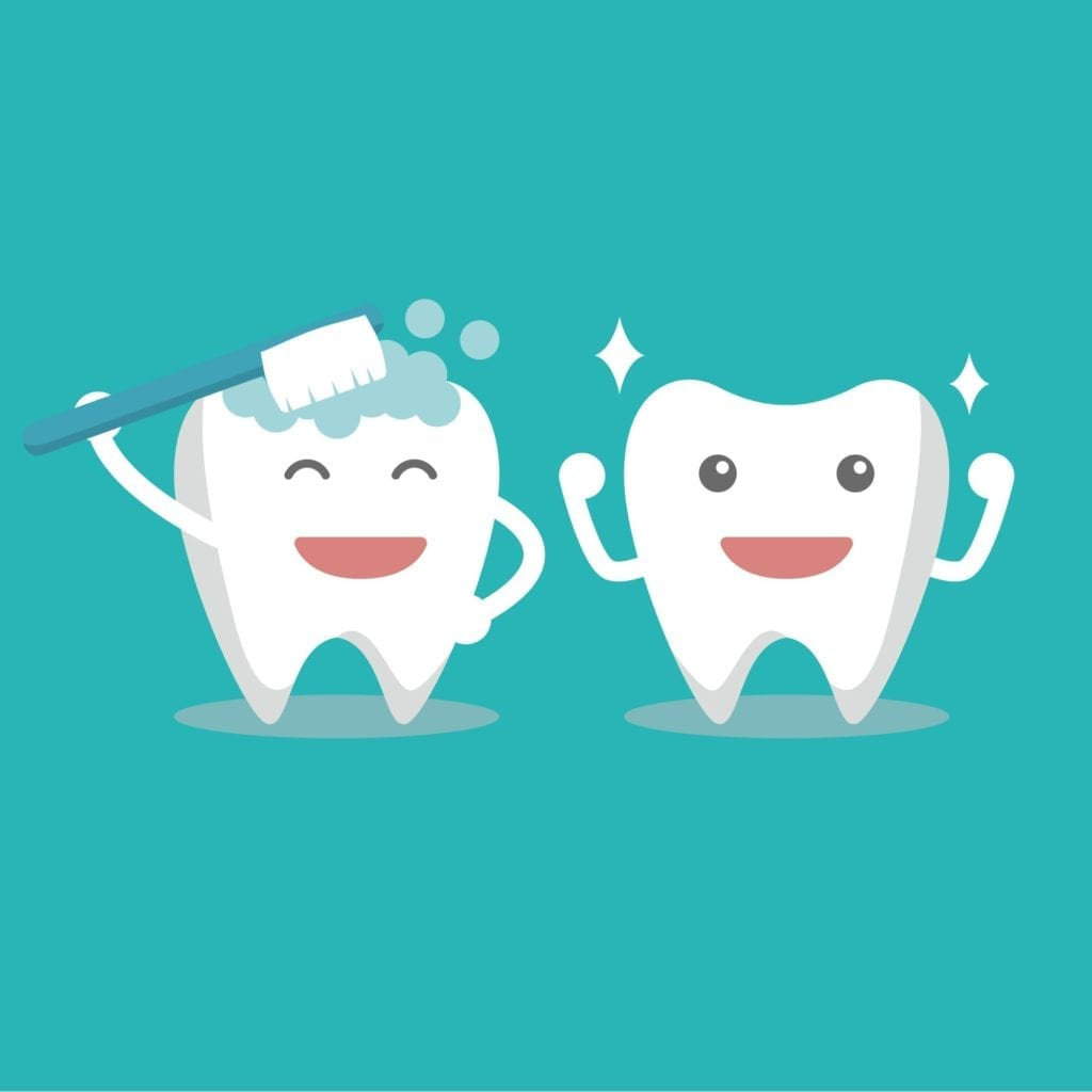 Tooth characters, Smiling tooth
